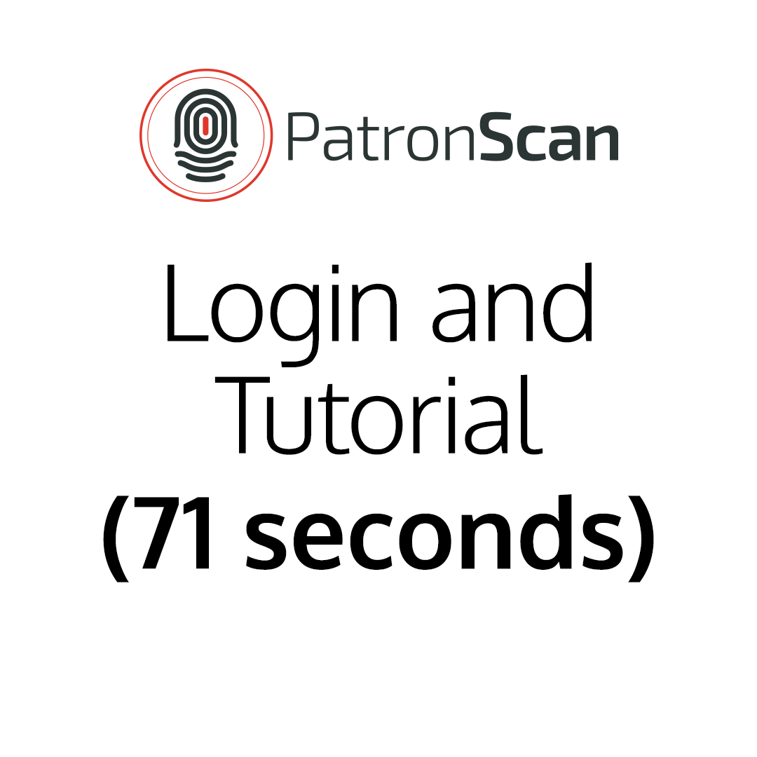 Login and Tutorial