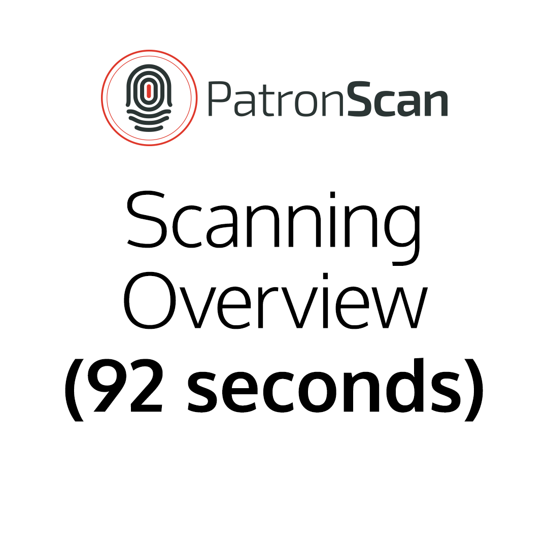 Scanning Overview