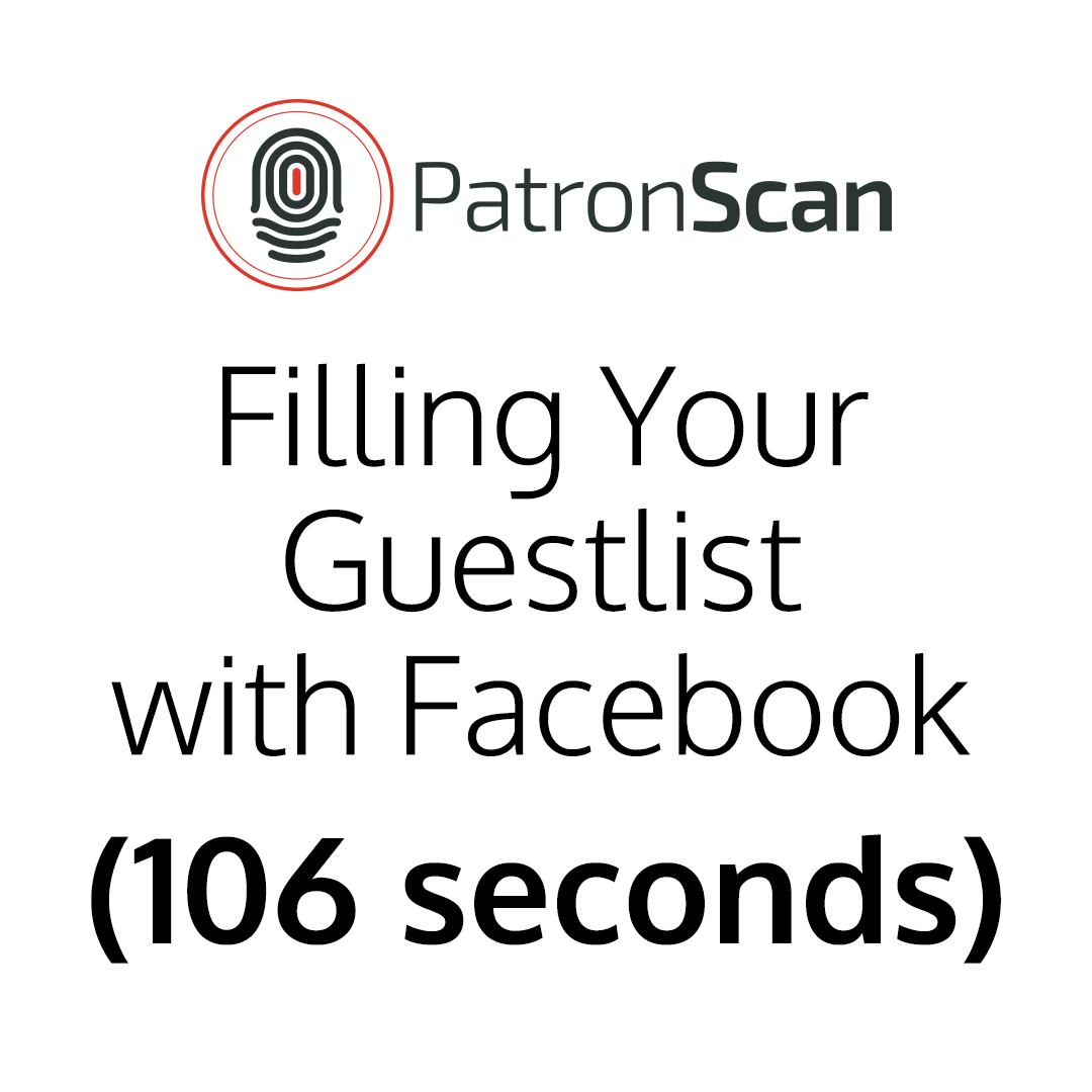 Filling Your Guestlist with Facebook