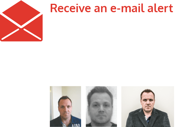Receive an e-mail notification